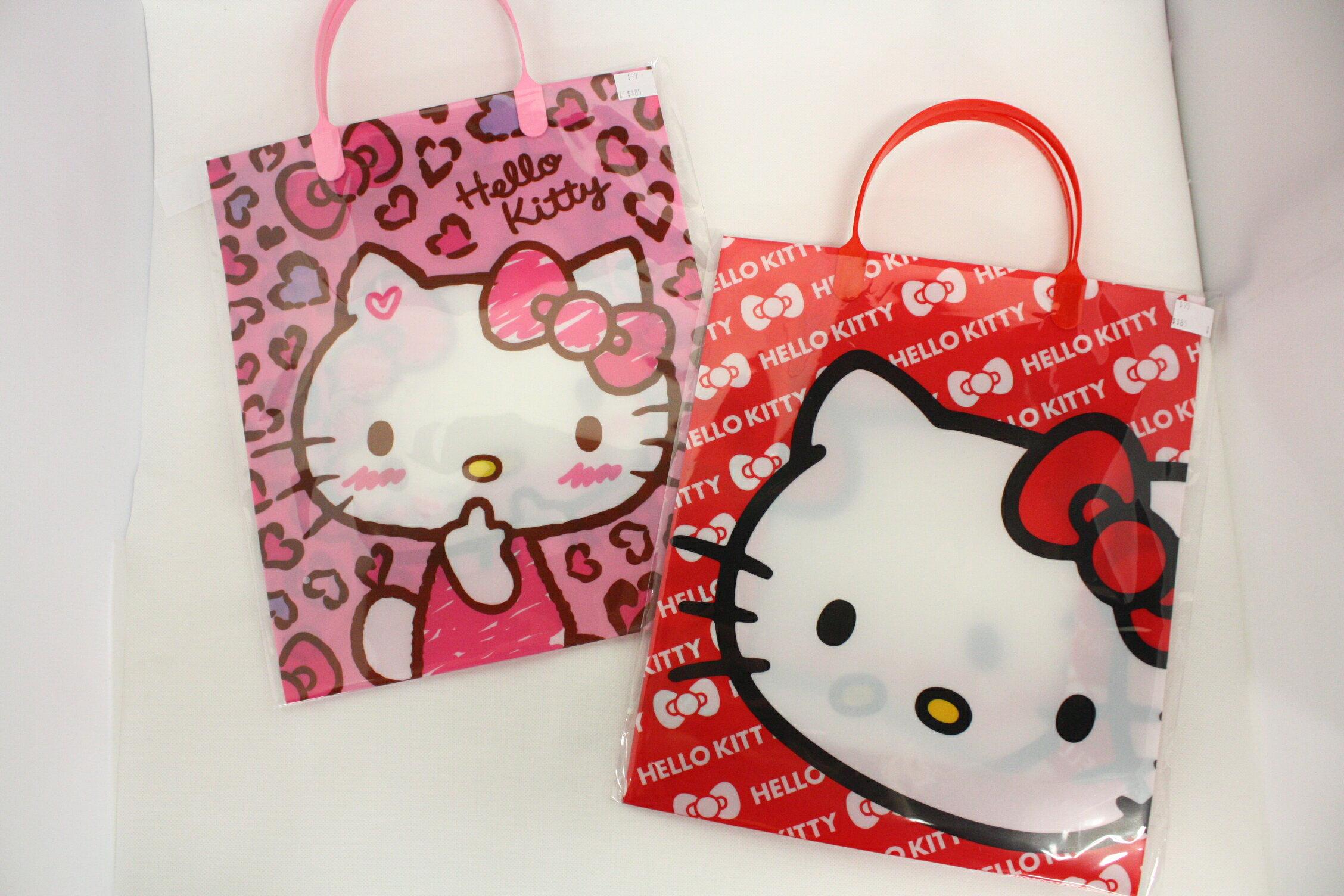 KITTY PP 壓紋 手提袋 三麗鷗 禮物袋 HELLO KITTY KT 凱蒂貓 正版授權 T0001 445