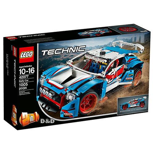 東喬精品百貨商城:樂高積木LEGO《LT42077》2018年科技Technic系列-拉力賽車