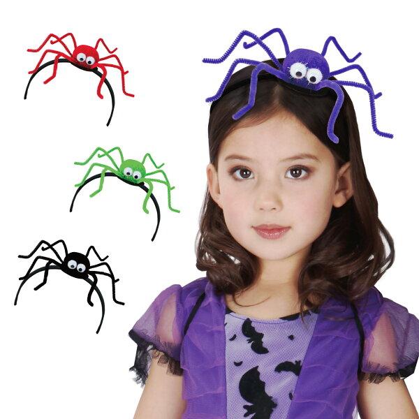 X射線 精緻禮品:X射線【W278873】可愛蜘蛛髮箍,萬聖節飾品髮箍蜘蛛派對角色扮演化妝舞會表演話劇髮圈