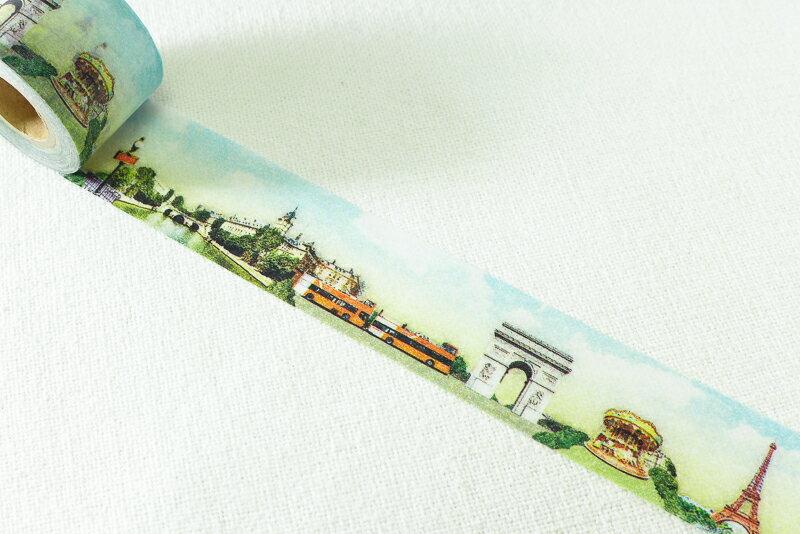~小徑文化~ 和紙膠帶 Mark #x27 s maste系列 ~ 世界的街道   巴黎
