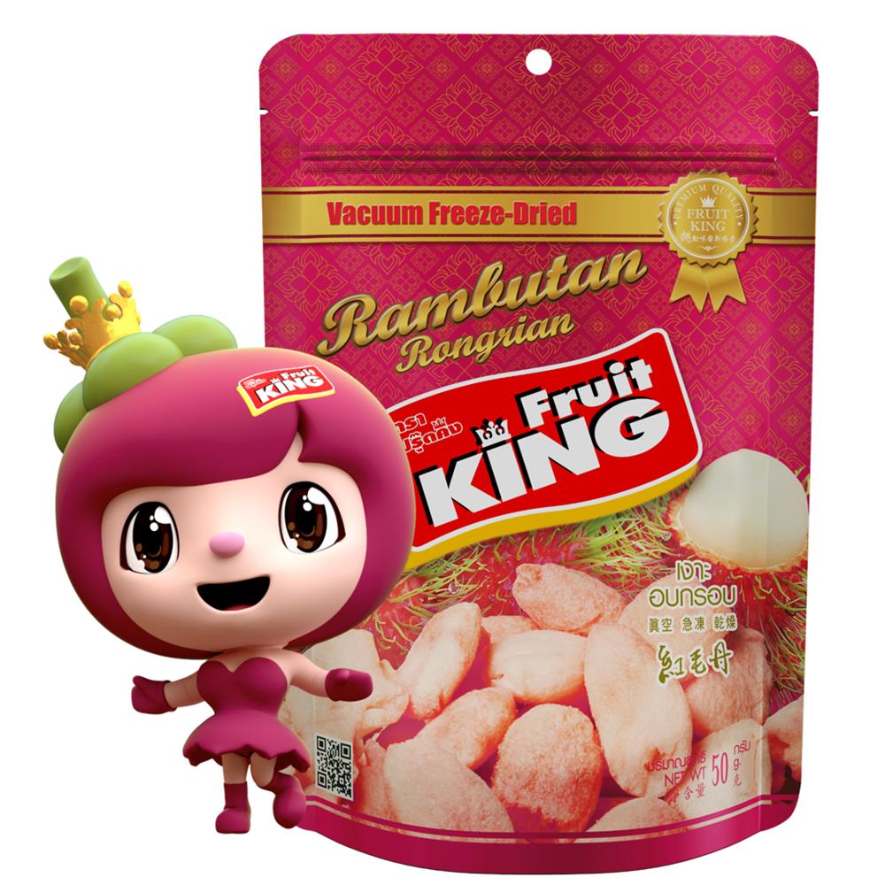 【Fruit King鮮果乾】紅毛丹50g