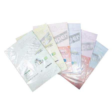 Dr.Paper A4 80gsm石染色紙-7色 50入/包