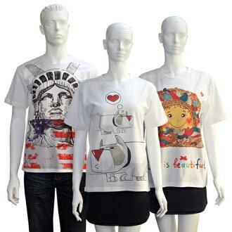 【客製化】全彩昇華熱轉印棉T-shirt (白T) A90-100-081