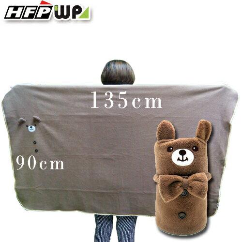 399元超大件 gt 小熊刷毛暖暖被毯 捲毯 BE01