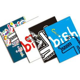 Cubbish A5膠裝左開筆記本-空白(4款) /本