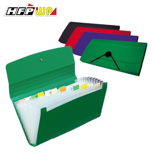 ~10個量販~12層分類風琴夾^(小^) 環保無毒 HFPWP F4303~2~10