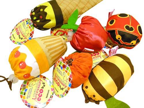 日本進口動物、甜點造型環保購物袋 Nakabayashi NCL 056 HFPWP