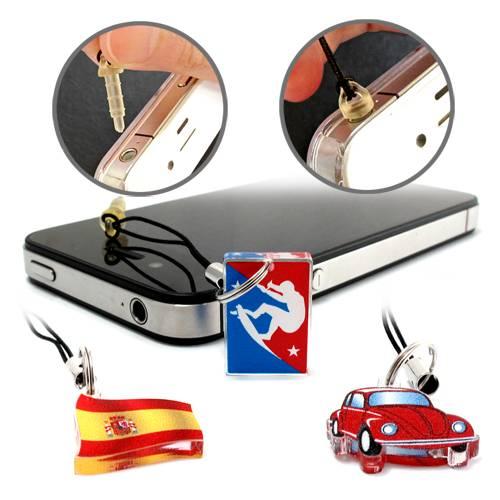 (200入) 2x2cm 壓克力手機耳機插吊飾 S1-11-30-078 HFPWP