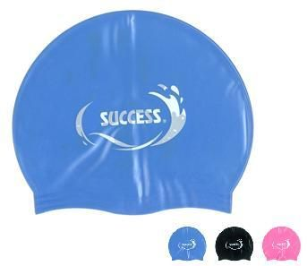 成功 SUCCESS 超彈性矽膠泳帽 成人款  S667