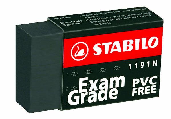 ~72個 ~STABILO 德國天鵝牌 Exam Grade PVC FREE 黑色無毒環