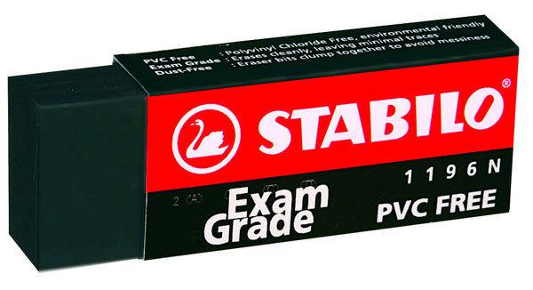 ~48個 ~STABILO 德國天鵝牌 Exam Grade PVC FREE 黑色無毒環