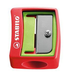 STABILO 德國天鵝牌 Woody 3 in 1系列 粉蠟筆 專用削筆器 - 共2種顏色可選(型號:4548/12)