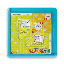 【Shachihata 日本寫吉達】『摺紙工場』裁紙器 ZPC-A 藍色 / 粉紅色
