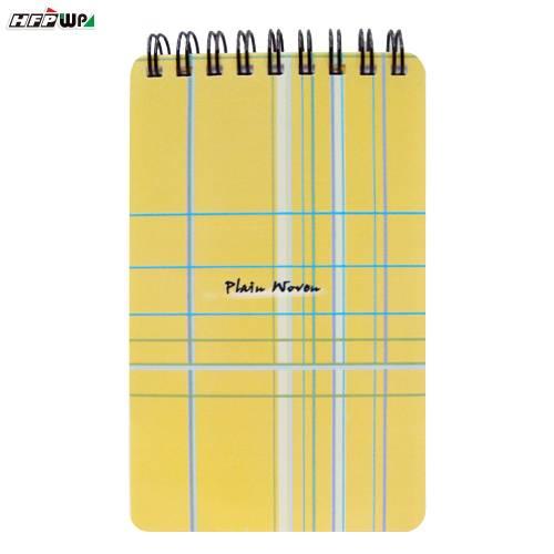 黃色布格子筆記本(大) YPN58 HFPWP