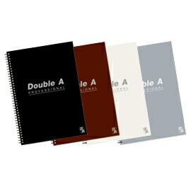 Double A B5/18K 線圈筆記本-辦公室系列(4款) 40頁/本