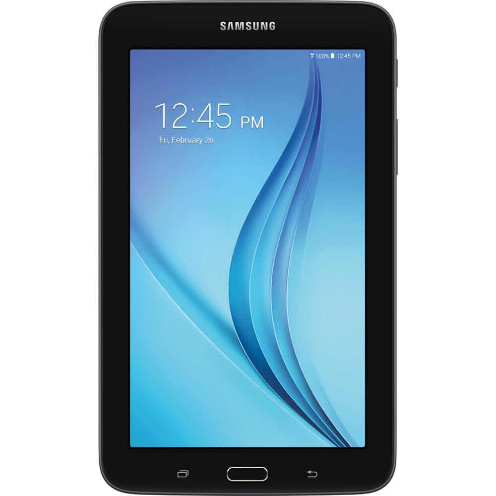 """7"""" Galaxy Tab E Lite 8GB Tablet - Black SM-T113NYKAXAR"""