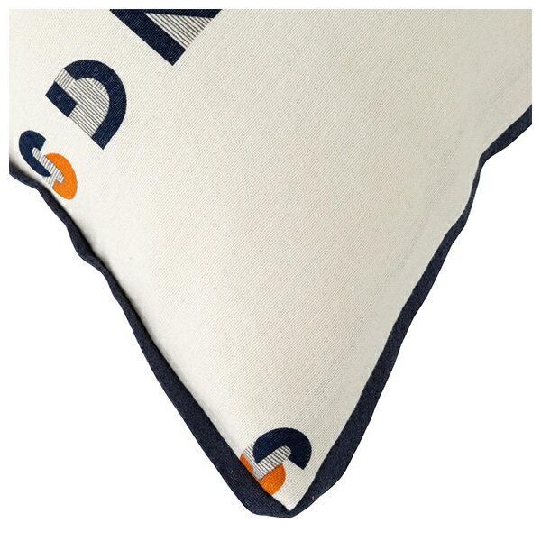 純棉枕套 法蘭絨 LETTER 43×63 NITORI宜得利家居 4