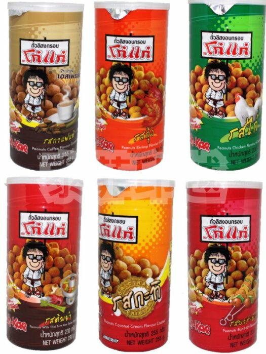 {泰菲印越} 泰國 KOHKAE 大哥大 咖啡 蝦味 雞汁 燒烤( bbq) 原味(椰奶) 泰式火鍋(酸辣) 花生豆