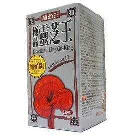 葡萄王極品靈芝王多醣體12%189粒◆德瑞健康家◆