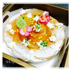 日系清爽雪藏乳酪蛋糕*綜合野莓/藍莓/覆盆子/蜜釀蘋果