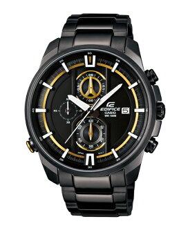 CASIO EDIFICE EFR-533BK-1A9頂尖科技IP黑時尚腕錶/黑面44.6mm