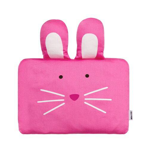 ★衛立兒生活館★Milo & Gabby 動物好朋友-嬰兒枕頭套(LOLA兔兔)