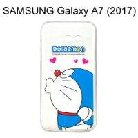 小叮噹週邊商品推薦哆啦A夢空壓氣墊軟殼 [嘟嘴] SAMSUNG Galaxy A7 (2017) A720F 小叮噹【正版授權】
