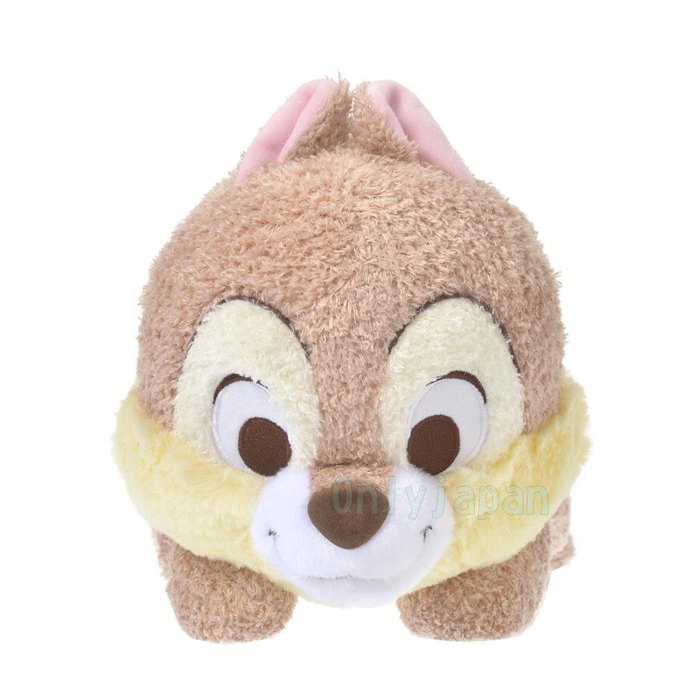 【限時領券再95折】 日本迪士尼專賣店 棉柔絨毛趴姿娃 奇奇 花栗鼠 松鼠 迪士尼 娃娃 玩偶 布偶 收藏 擺設 真愛日本