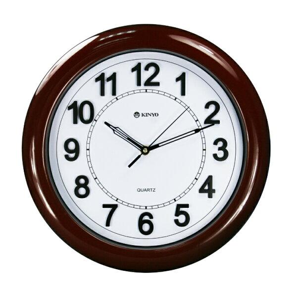 CL-129歐式立體靜音掛鐘時鐘鬧鐘掛鐘壁鐘LCD電子鐘【迪特軍】