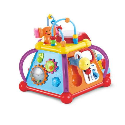 【兒童玩具】快樂小天地 1-3歲寶寶多功能仿真場景游戲桌