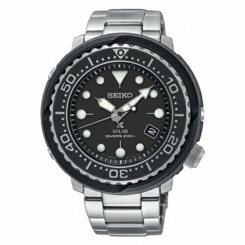 SEIKOPROSPEX追隨大海太陽能潛水橡膠腕錶V157-0CX0DSNE497P1