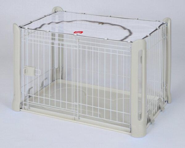 ayumi愛犬生活-寵物精品館:《日本MARUKAN》精製狗籠上網蓋型DP-464白