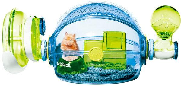 《Hagen赫根》OVO寵物鼠誕生系列鼠籠 NO.62663 / Habitrail男孩房