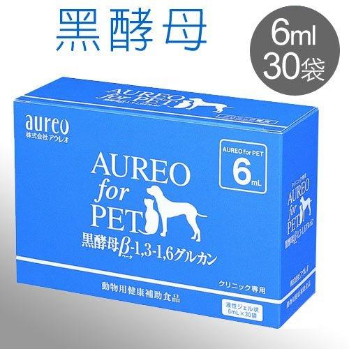 《日本黑酵母》Aureo黑酵母寵特寶健體速6mlx30包/盒