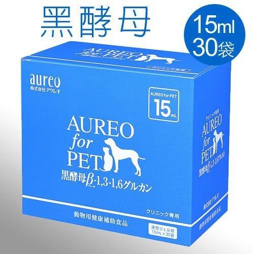 ayumi愛犬生活-寵物精品館:《日本黑酵母》Aureo黑酵母寵特寶健體速15mlx30包盒