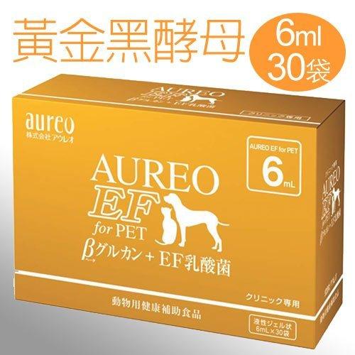 《日本黑酵母》Aureo黃金黑酵母寵特寶健體速 6mlx30入/盒