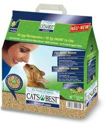 《德國凱優 CAT'S BEST》強效凝結除臭木屑砂(黑標)8L/木屑砂/貓砂