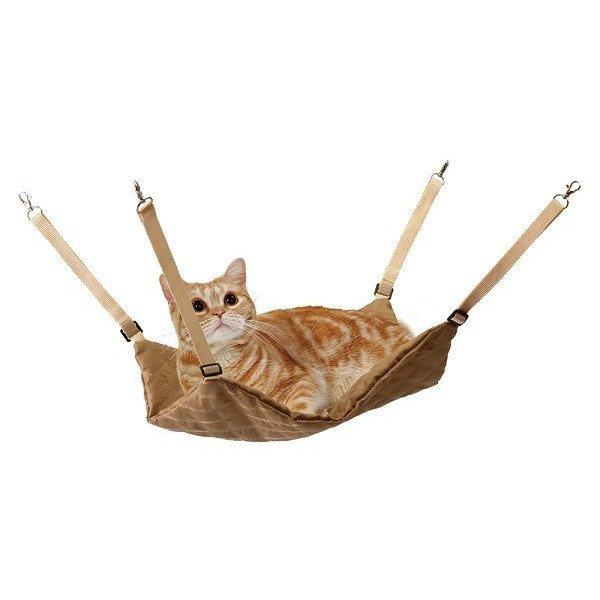 《日本MARUKAN》貓咪暖暖吊床墊厚墊 - 絨面帆布 CT-334