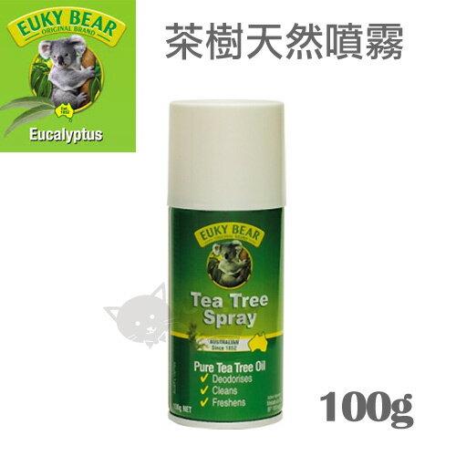 《澳洲Euky Bear》茶樹天然噴霧 - 100g / 驅蟲殺菌 / 寵物與人共用