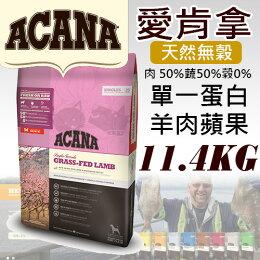 愛肯拿Acana低敏-美膚羊肉蘋11.4kg 狗飼料 免運