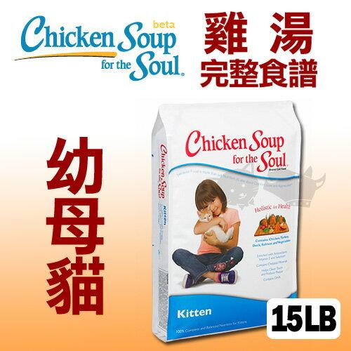 《美國雞湯》幼母貓潔牙 / 抗氧化配方 - 15LB / 貓飼料