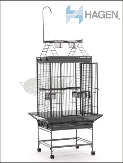 《加拿大Hagen赫根》鳥世界B7311 - 別墅型圍欄頂鳥籠