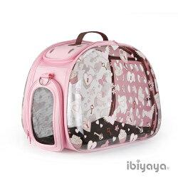 《IBIYAYA 依比呀呀》透明膠囊寵物提包FC1220粉色杯子蛋糕