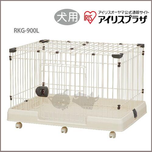 《日本IRIS》狗籠 IR-RKG-900L / 茶色 - 犬用