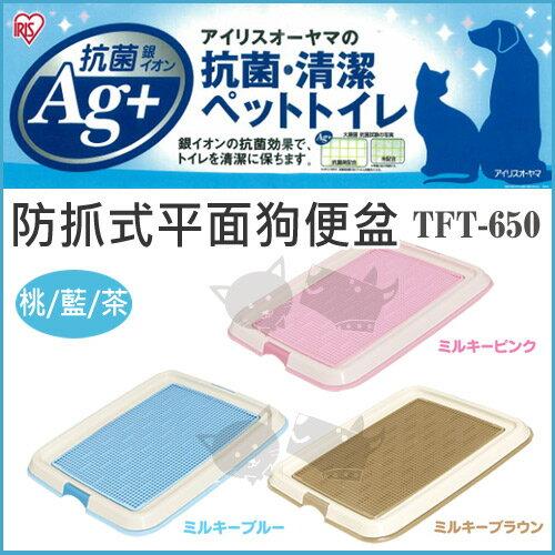 《日本IRIS》防抓式平面狗便盆 IR-TFT-650 / 桃色 / 藍色 / 茶色 - 犬用