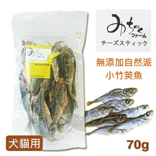 ayumi愛犬生活-寵物精品館:《日本Michi》無添加自然派-小竹莢魚70g犬貓用寵物零食