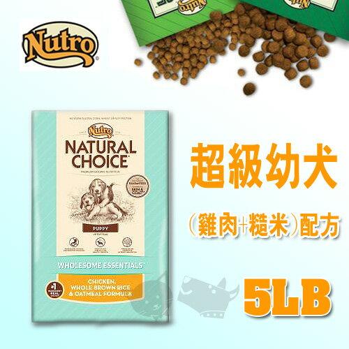 《CHOICE美士》超級幼犬 (雞肉+糙米)配方 - 5LB / 狗飼料