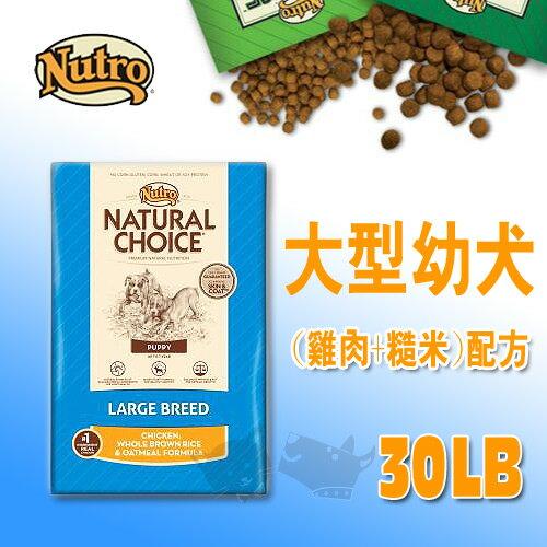 《CHOICE美士》大型幼犬 (雞肉+糙米)配方 - 30LB / 狗飼料