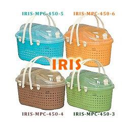 日本IRIS-透明上蓋寵物外出提籃/運輸籃/4色-超低特價!