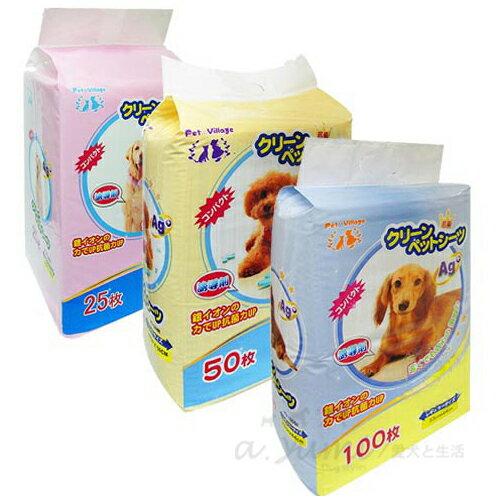 【日本Pet village】誘導劑AG+銀離子除臭尿布墊單包